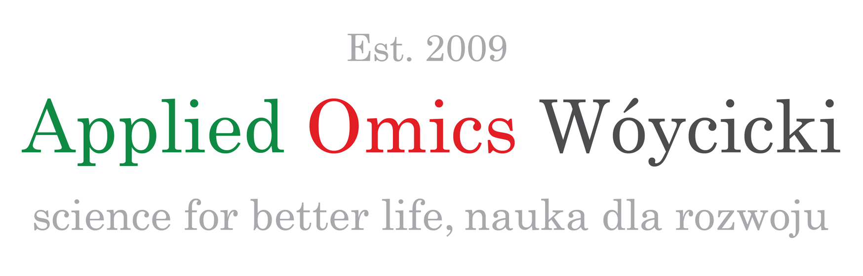 Applied Omics Wóycicki